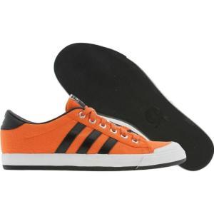 アディダス メンズ スニーカー シューズ・靴 Adidas Indoor Tennis amber / black / white|fermart3-store
