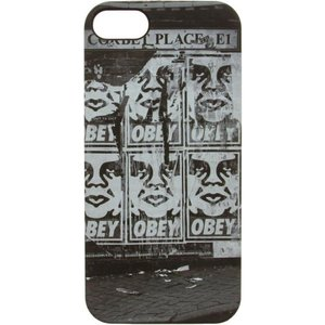 オベイ Obey メンズ アクセサリー iPhoneケース Obey Corbet Place iPhone 5/5s Snap Case|fermart3-store