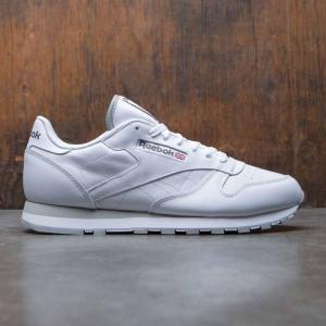 リーボック Reebok メンズ スニーカー シューズ・靴 Classic Leather white|fermart3-store