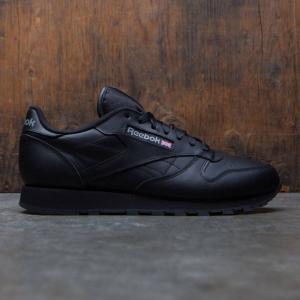 リーボック Reebok メンズ スニーカー シューズ・靴 Classic Leather black|fermart3-store