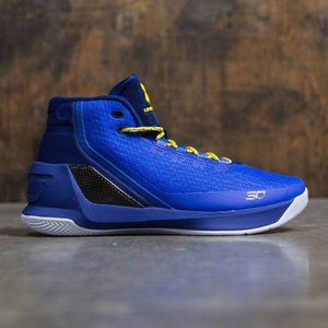 アンダーアーマー メンズ スニーカー シューズ・靴 Under Armour Curry 3 - Dub Nation Heritage blue / yellow|fermart3-store