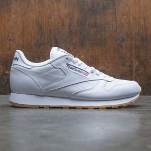 リーボック Reebok メンズ スニーカー シューズ・靴 Classic Leather white / gum|fermart3-store