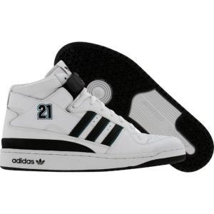 アディダス メンズ スニーカー シューズ・靴 Adidas Forum Mid BB - Kevin Garnett r white / black / reef fermart3-store
