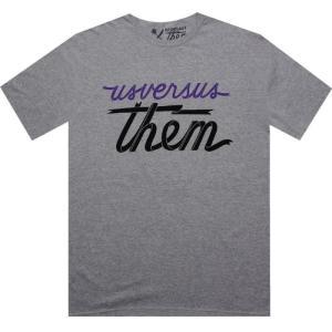 アス バーサス ゼム Us Versus Them メンズ トップス Tシャツ Us Versus Them Mag Banner Tee|fermart3-store