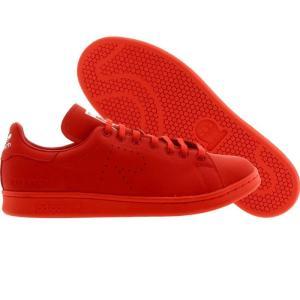 アディダス メンズ スニーカー シューズ・靴 Adidas x Raf Simons Stan Smith red / white fermart3-store