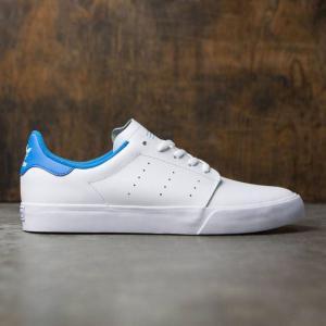 アディダス メンズ スニーカー シューズ・靴 Adidas Seeley Court white / footwear white / bright blue|fermart3-store