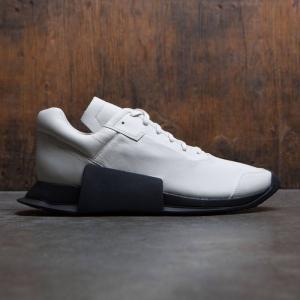 アディダス メンズ スニーカー シューズ・靴 Adidas x Rick Owens Level Runner Low II white / ro milk / ro black|fermart3-store