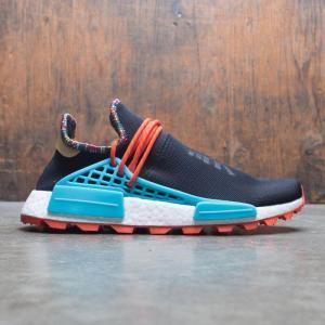 アディダス Adidas メンズ スニーカー シューズ・靴 x pharrell williams men solar hu nmd black/clear blue/collegiate orange fermart3-store