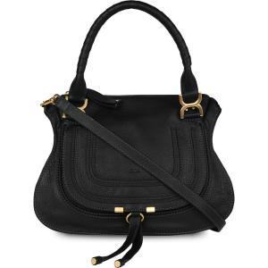クロエ CHLOE レディース ショルダーバッグ バッグ marcie small leather shoulder bag Black|fermart3-store