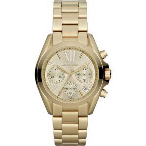 マイケル コース レディース 腕時計 mk5798 mini bradshaw gold-plated watch Gold|fermart3-store