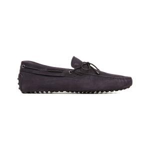 トッズ tods メンズ シューズ・靴 ドライビングシューズ gommino heaven driving shoes in nubuck Navy|fermart3-store