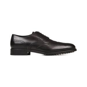 トッズ tods メンズ シューズ・靴 革靴 leather lace-up shoes Black|fermart3-store