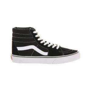 ヴァンズ vans メンズ シューズ・靴 スニーカー sk8 high-top trainers Black white canvas|fermart3-store