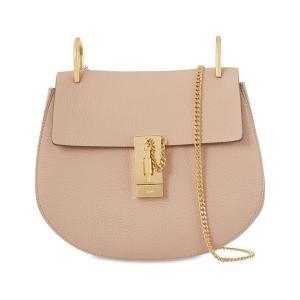 クロエ CHLOE レディース ショルダーバッグ バッグ drew small leather cross-body bag Cement pink|fermart3-store
