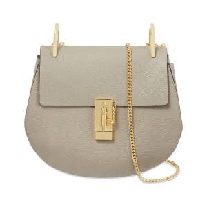 クロエ CHLOE レディース ショルダーバッグ バッグ drew small leather cross-body bag Motty grey|fermart3-store