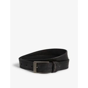 テッドベーカー ted baker メンズ アクセサリー ベルト cricket stitch belt Black fermart3-store