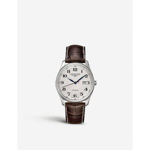 ロンジン longines メンズ 腕時計 l2.893.4.78.3 saint-imier stainless steel watch White|fermart3-store