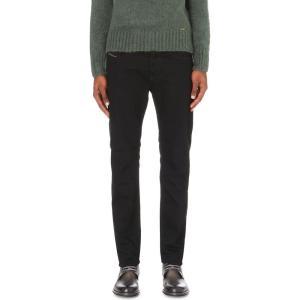 ディーゼル DIESEL メンズ ボトムス ジーンズ Buster regular-fit tapered jeans Denim fermart3-store
