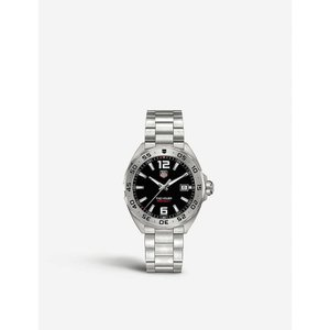 タグ ホイヤー tag heuer メンズ アクセサリー 腕時計 waz1112.ba0875 formula 1 stainless steel watch Black|fermart3-store