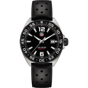 タグ ホイヤー tag heuer メンズ 腕時計 waz1110.ft8023 formula 1 polished steel watch Black|fermart3-store