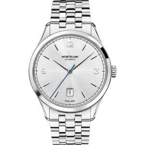 モンブラン メンズ 腕時計 heritage chronometrie 112532 automatic watch Silver|fermart3-store