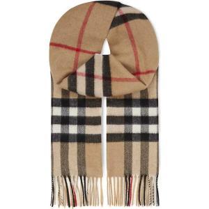 バーバリー burberry レディース アクセサリー スカーフ・マフラー giant check cashmere scarf Camel check|fermart3-store