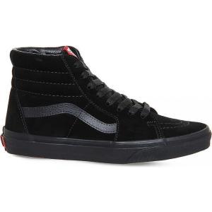 ヴァンズ vans レディース シューズ・靴 スニーカー sk8 hi tonal suede trainers Black suede mono|fermart3-store