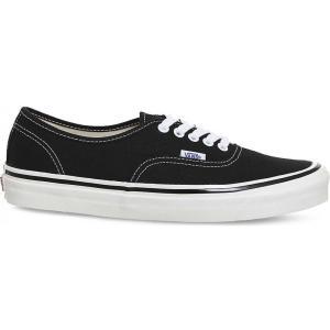 ヴァンズ レディース スニーカー シューズ・靴 authentic 44 dx canvas trainers Black|fermart3-store