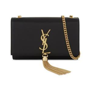 イヴ サンローラン レディース ショルダーバッグ バッグ kate tassel monogram small leather cross-body bag Black|fermart3-store
