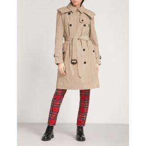 バーバリー レディース トレンチコート アウター amberford cotton trench coat Sisal|fermart3-store