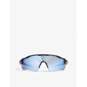 オークリー メンズ スポーツサングラス oo9208 radar ev path rectangle-frame sunglasses Black|fermart3-store