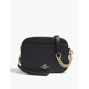 コーチ COACH レディース ショルダーバッグ カメラバッグ バッグ Leather camera bag Li/black fermart3-store