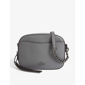 コーチ COACH レディース ショルダーバッグ カメラバッグ バッグ Leather camera bag Gm/heather grey fermart3-store