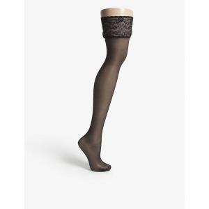 ファルケ falke レディース タイツ・ストッキング インナー・下着 seidenglatt 15 knitted stockings black|fermart3-store