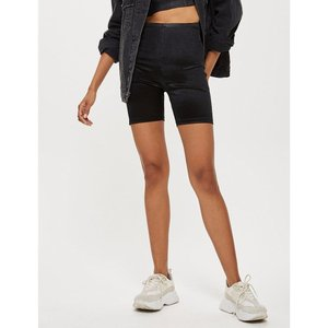 トップショップ topshop レディース ボトムス・パンツ 自転車 disco cycling shorts Black|fermart3-store