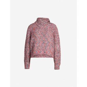 クロエ SEE BY CHLOE レディース ニット・セーター トップス Foldover knitted jumper Multicolor|fermart3-store