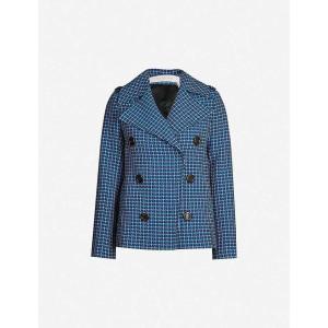 クロエ SEE BY CHLOE レディース スーツ・ジャケット アウター Checked woven blazer Multicolor fermart3-store