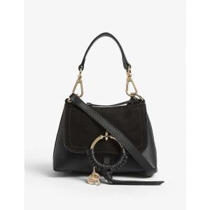 クロエ SEE BY CHLOE レディース ショルダーバッグ バッグ Mini Joan cross-body bag Black|fermart3-store