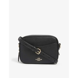 コーチ COACH レディース ショルダーバッグ カメラバッグ バッグ Leather camera bag Gd/black fermart3-store