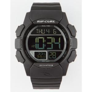リップカール メンズ 腕時計 Drifter Digital Watch BLACK|fermart3-store