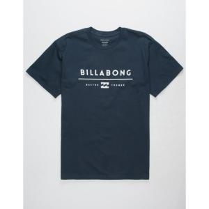 ビラボン メンズ Tシャツ トップス Unity T-Shirt NAVY|fermart3-store