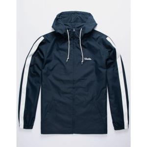 ヴィスラ VISSLA メンズ ジャケット ウィンドブレーカー アウター Wind Trip Jacket NAVY|fermart3-store