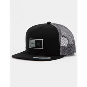 ハーレー HURLEY メンズ キャップ 帽子 Natural Trucker Hat BLACK|fermart3-store