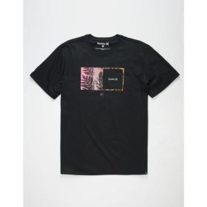 ハーレー HURLEY メンズ Tシャツ トップス Sig Zane Moorea T-Shirt BLACK|fermart3-store