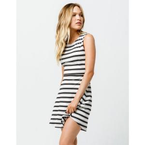 ボルコム VOLCOM レディース ワンピース ワンピース・ドレス Stone Stripe Dress BLK/WHT|fermart3-store