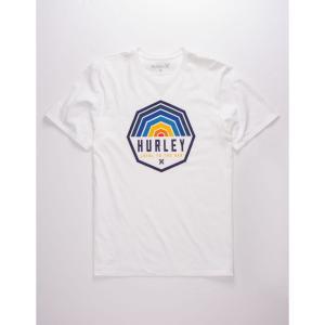 ハーレー HURLEY メンズ Tシャツ トップス Hexer White T-Shirt WHITE|fermart3-store