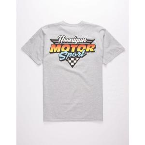 フーニガン HOONIGAN メンズ Tシャツ トップス Motorsport T-Shirt HEATHER|fermart3-store