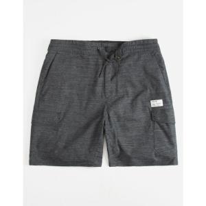 ハーレー HURLEY メンズ ショートパンツ ボトムス・パンツ Breathe Cargo Shorts BLACK|fermart3-store