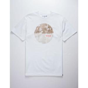 ハーレー HURLEY メンズ Tシャツ トップス Panda Food T-Shirt WHITE|fermart3-store