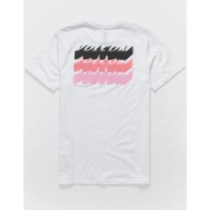 ボルコム VOLCOM メンズ Tシャツ トップス Automate White T-Shirt WHITE|fermart3-store